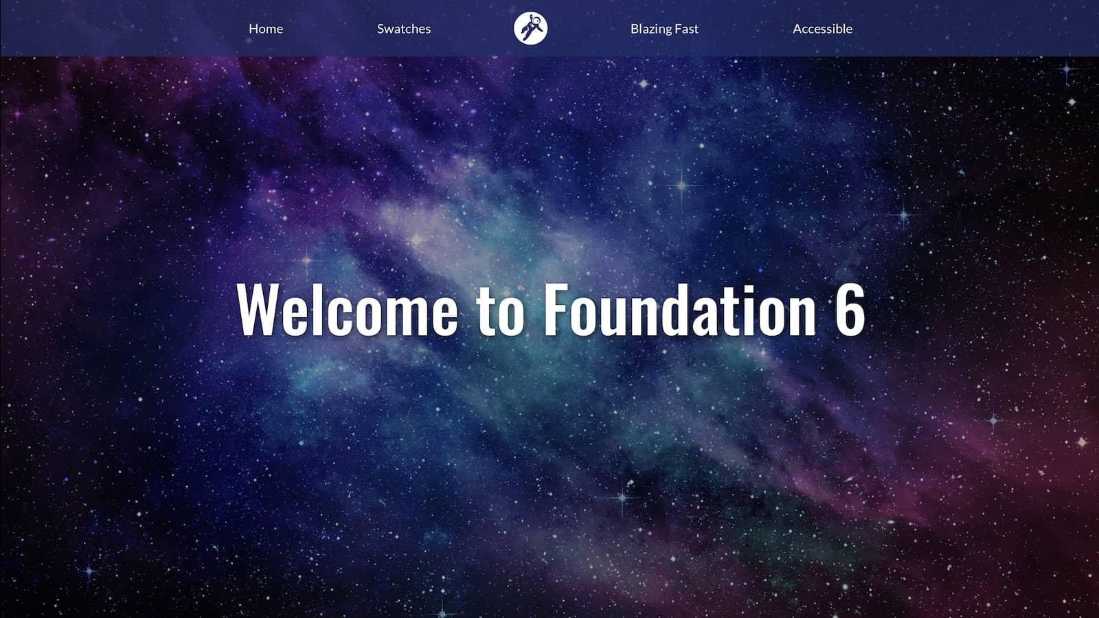 Willkommen zur Foundation 6 Suite